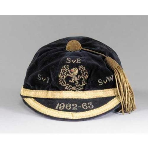Scotland Football Cap v Ireland, England & Wales 1962-63