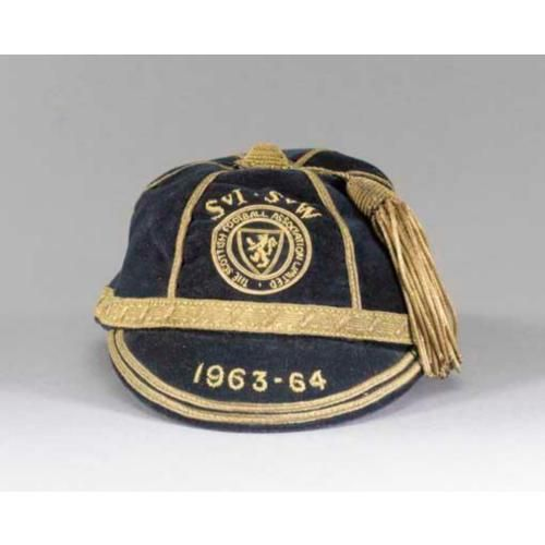 Scotland Football Cap v Ireland & Wales 1963-64
