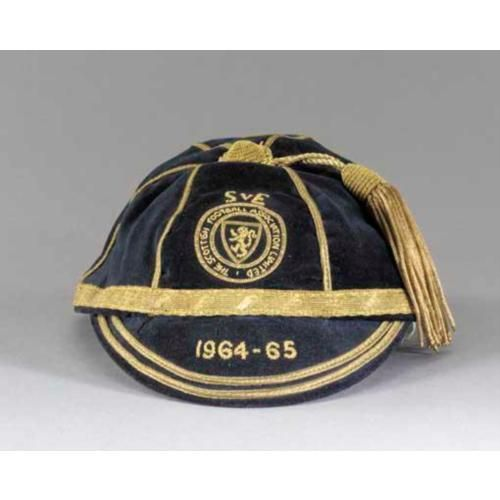 Scotland Football Cap v England 1964-65