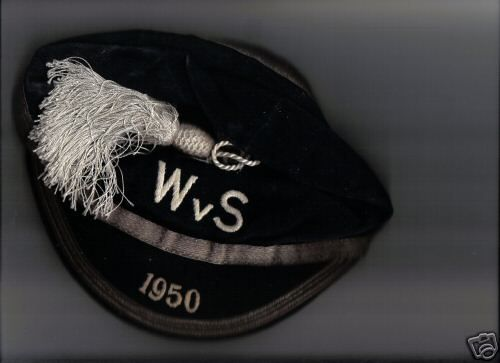 Scotland Football Cap v Wales 1950