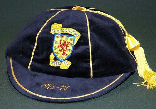 Scotland International Football Cap 1973-74