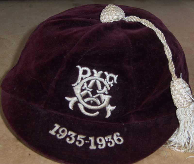 Glasgow Academicals Rugby Cap 1935-36