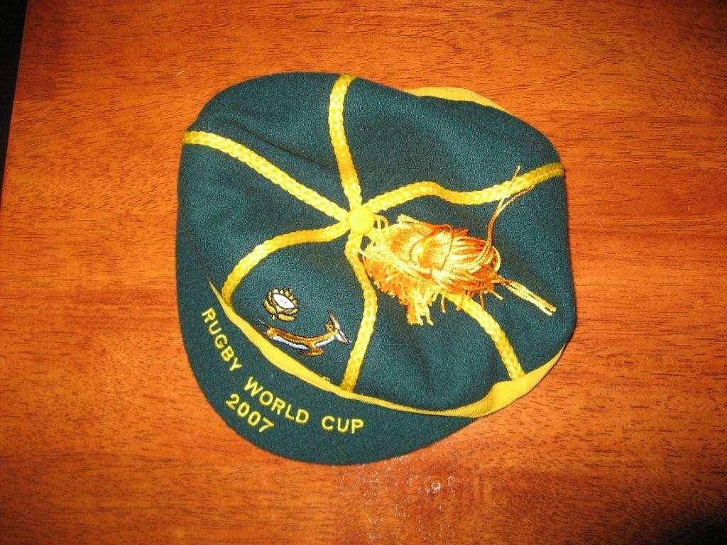 Rugby Cap South Africa 2007 Rugby World Cup