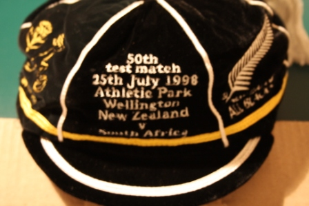 South Africa Rugby Cap v New Zealand 1998