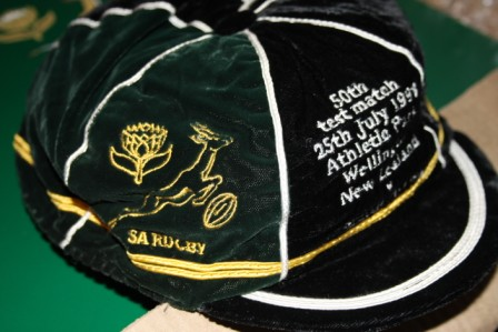 South Africa v New Zealand Rugby Cap 1998