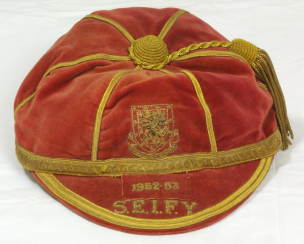 Alf Sherwood's Wales Football Cap 1952-53 season