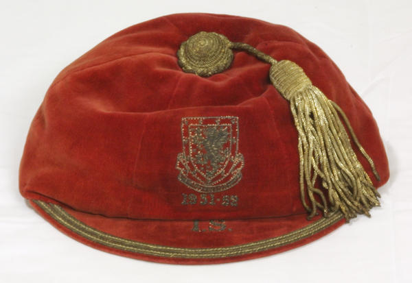 Welsh Youth Football Cap 1951-52 season