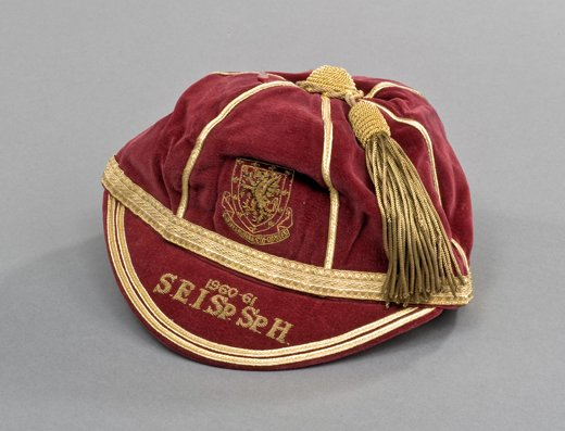 Jack Kelsey's Wales International Football Cap 1960-61