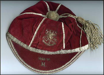 Brian Price's Wales Amateur Football Cap 1969