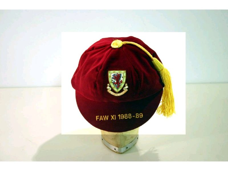 Welsh Amateur FAW XI Wales International Football Cap 1988-89