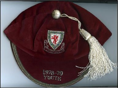 Frankie Jones' Welsh Youth Wales International Football Cap 1978-79