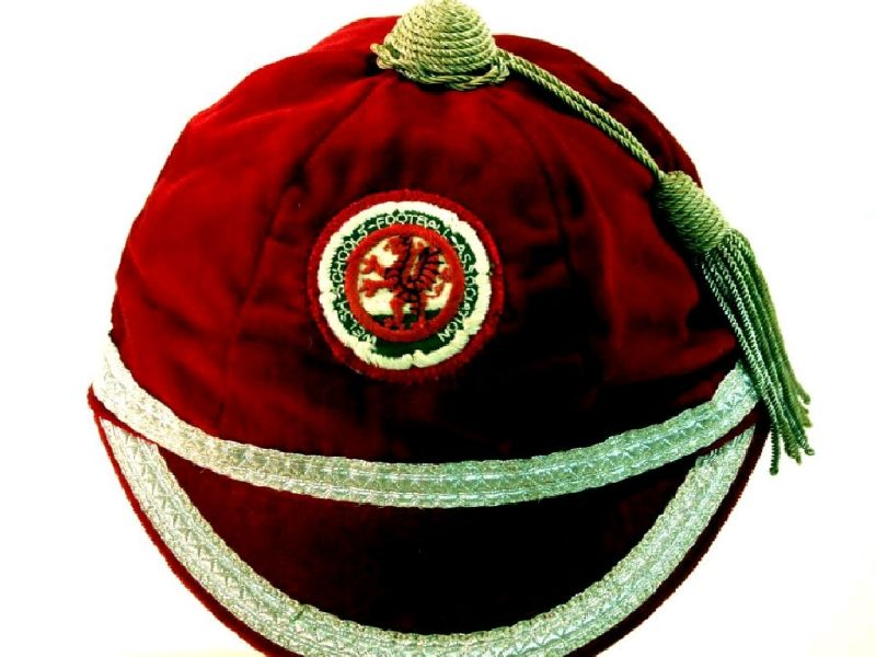 David Giles' Welsh Schools Football cap