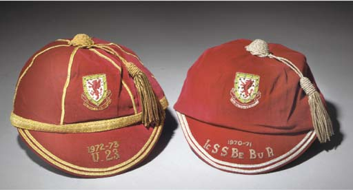 Leighton James' Wales U21 & U23 Wales International Football Caps 1970-73