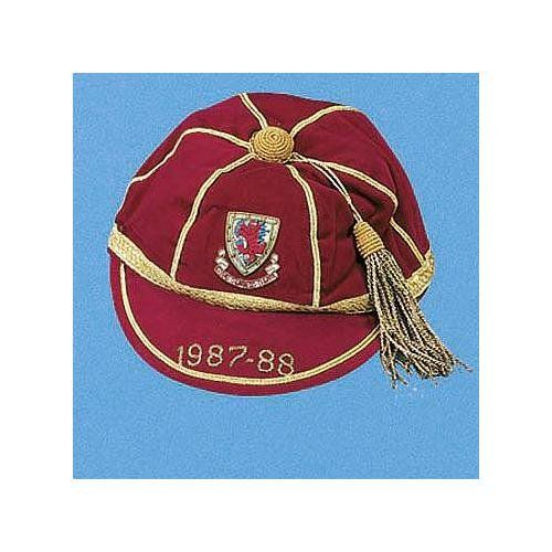 Clayton Blackmore's Wales International Football Cap 1987-88 season