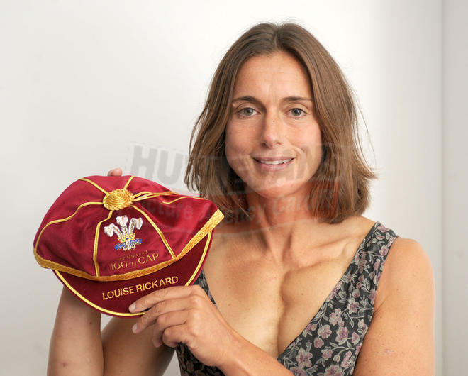 Louise Rickard's 100th Wales Women's Rugby Cap