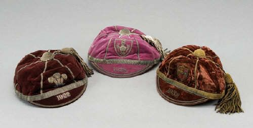 Jim Sullivan's Wales International Rugby Cap 1922