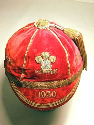 Wales International Cap 1930