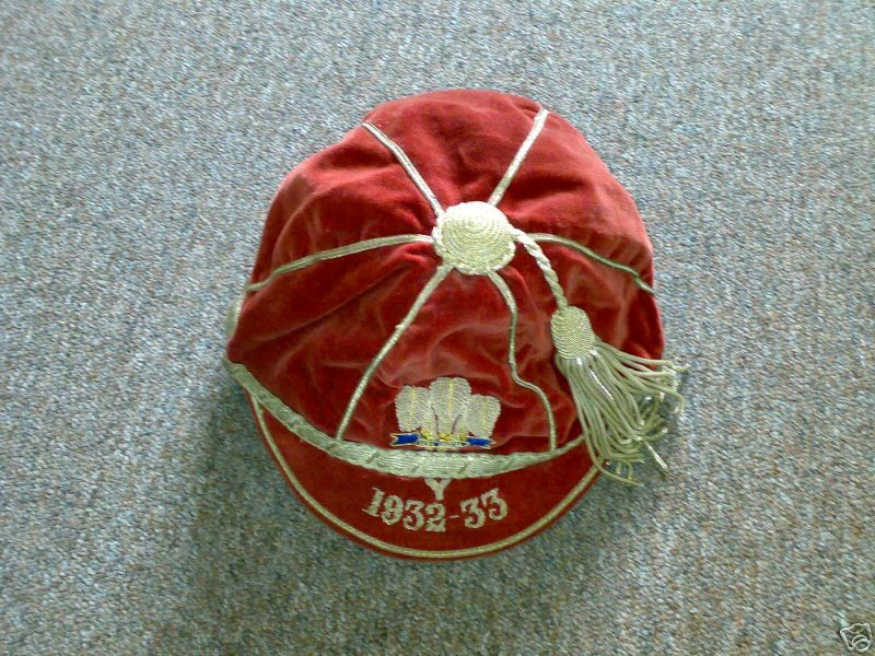 Wales International Cap 1932-33