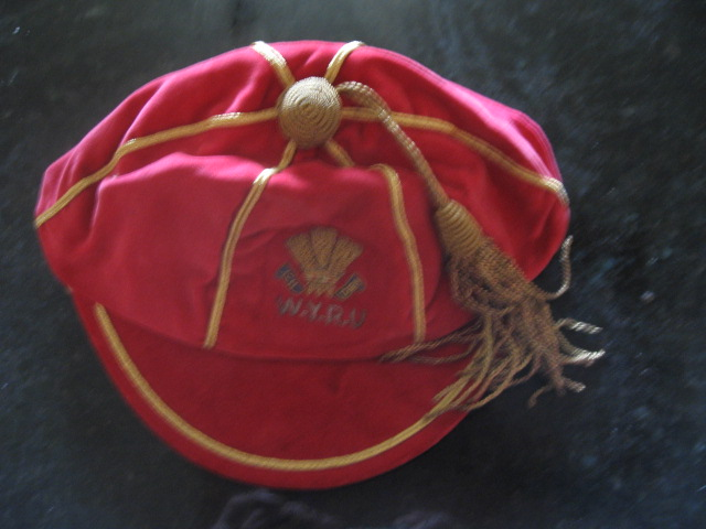 Allan Bateman's Welsh Youth Rugby Cap