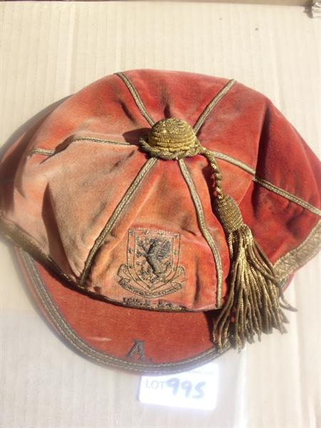 Cliff Jones Wales International Football Cap v Austria 1953