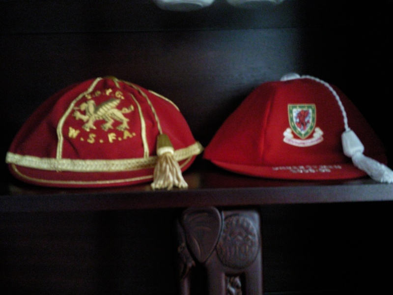 Lee Lucas' Welsh Football Caps
