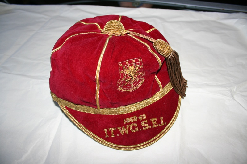 Ron Davies Wales Football Cap 1968-69