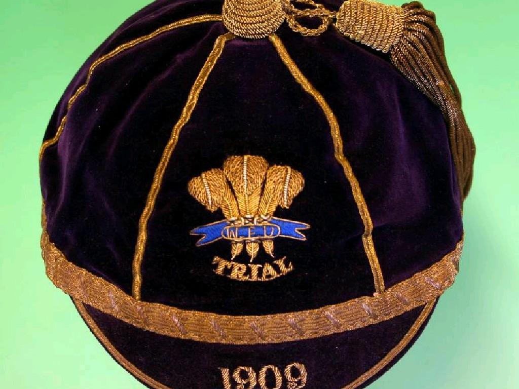 Wales Trial Rugby Cap