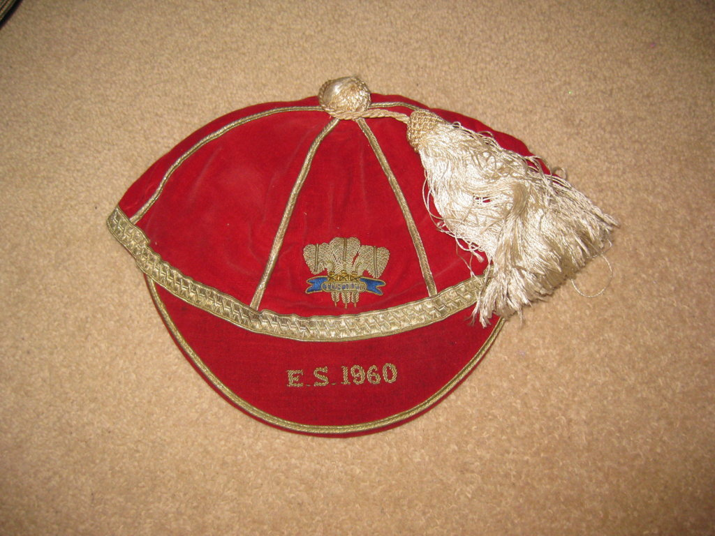Welsh Schools Rugby Cap v England and Scotland 1960