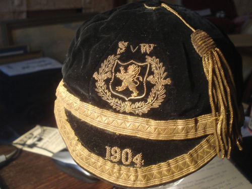 Alec Bennett Scotland Football Cap 1904