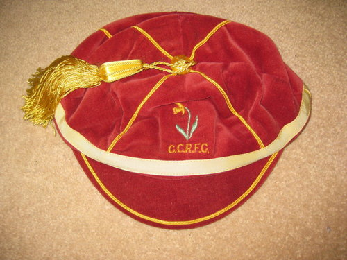 CCRFC Rugby Honours Cap