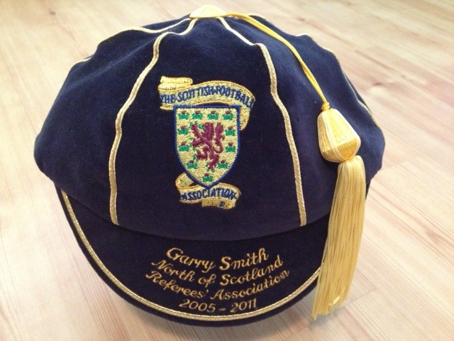 Garry Smith Scotland Football Referee Honours Cap 2005-2011