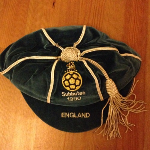 England Subbuteo International Honours Cap 1990